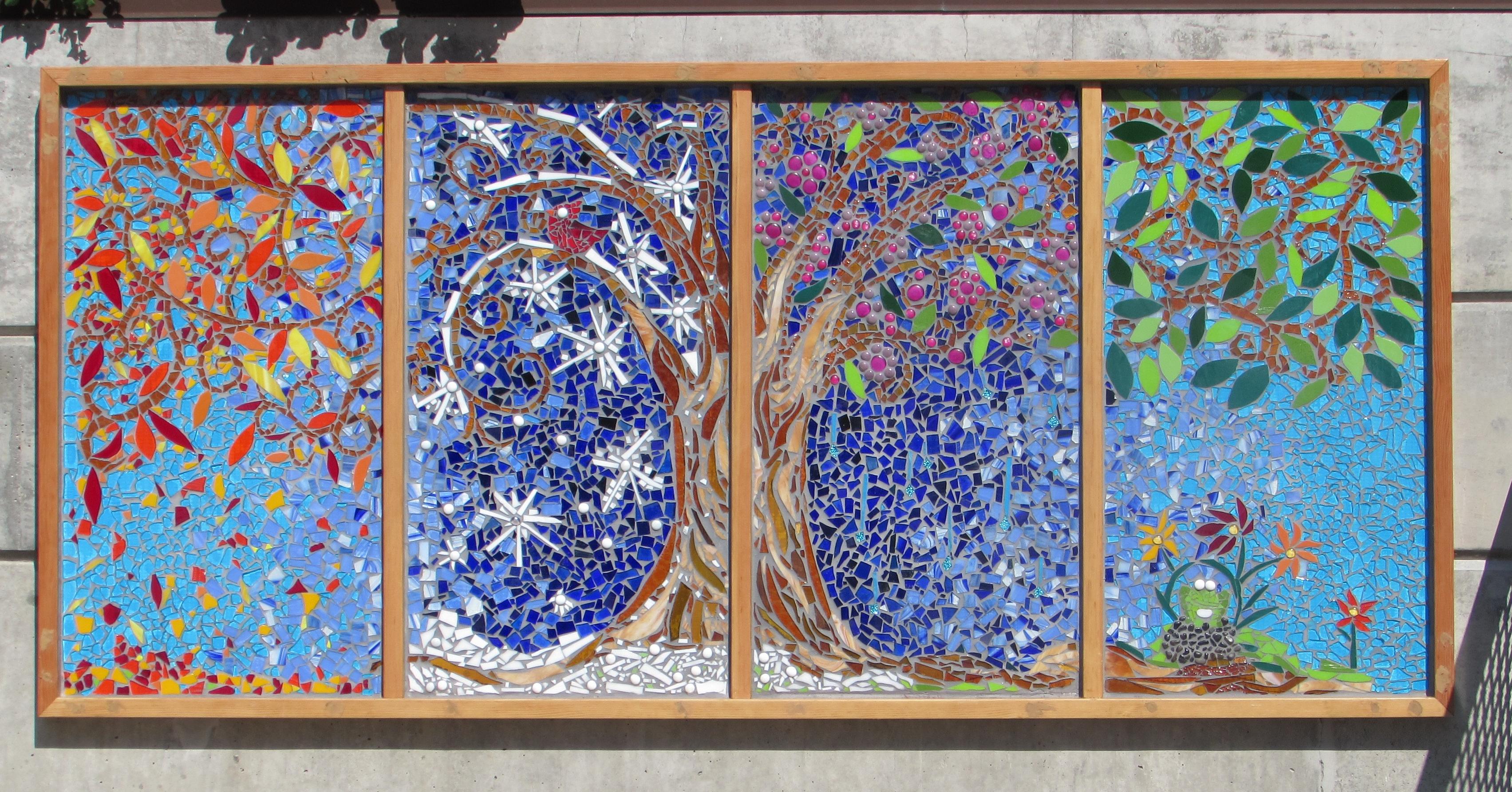 Installations Cheryl Smith Mosaics